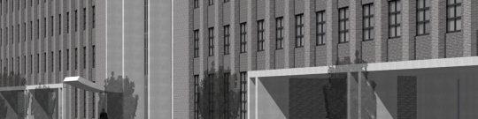 Poortgebouw voor distributiecentrum, Tilburg - headafbeelding - BEELEN CS architecten Eindhoven