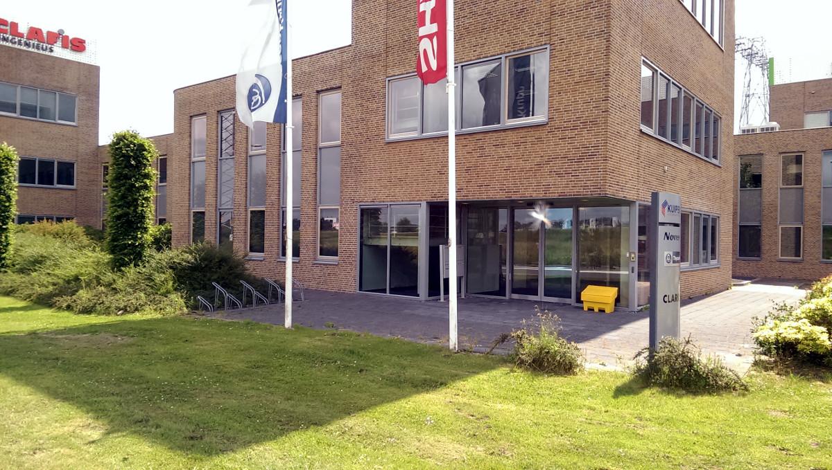 Bedrijfsgebouw Eemspoort Groningen entreepartij- BEELEN CS architecten Eindhoven