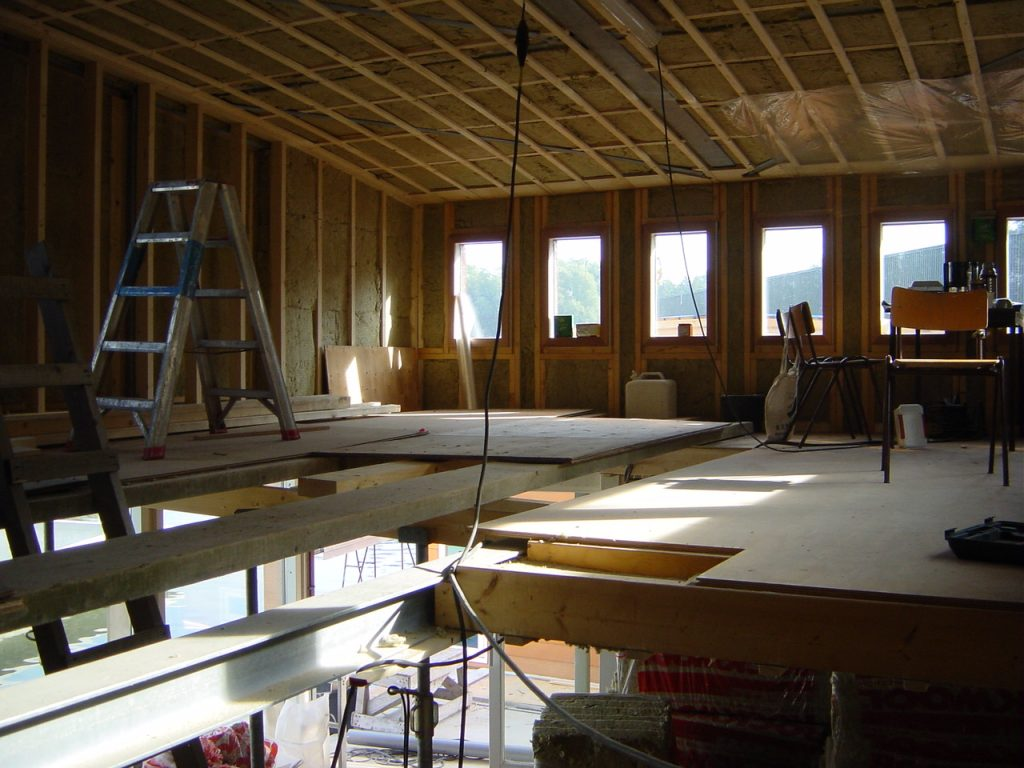 isoleren houtskeletbouw