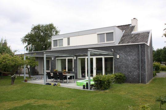 Transformatie woonhuis, Den Hoorn - achterzijde - BEELEN CS architecten Eindhoven