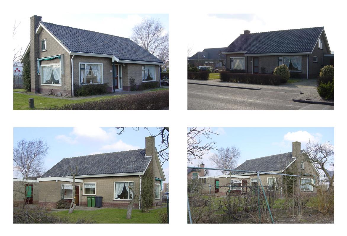 Transformatie woonhuis, Den Hoorn - oude situatie - BEELEN CS architecten Eindhoven