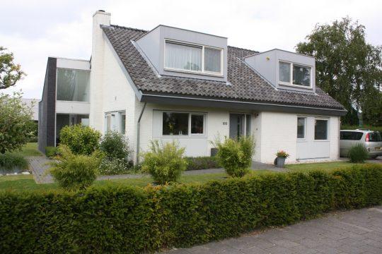 Transformatie woonhuis, Den Hoorn - voorzijde - BEELEN CS architecten Eindhoven