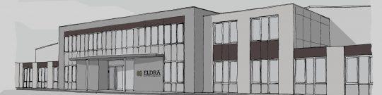 Uitbreiding bedrijfspand Eldra te Ittervoort door Beelen CS architecten
