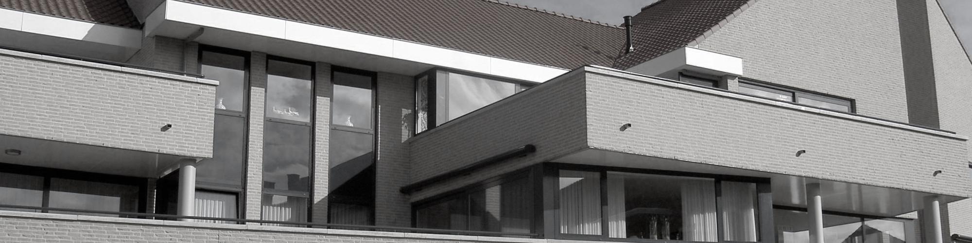Appartementengebouwen De Poell en La Poste te Nederweert door Beelen CS architecten