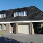 Gezinswoning met ongebruikelijke indeling, Nederweert - straatzijde - BEELEN CS architecten Eindhoven