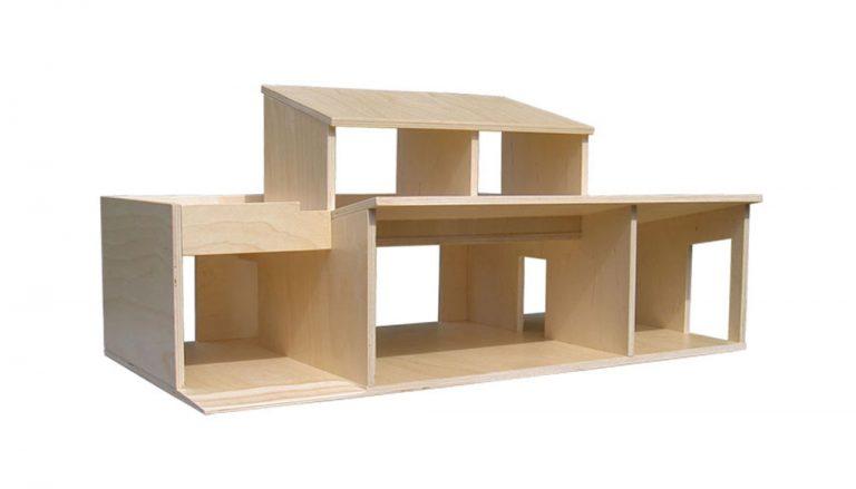 poppenhuis playmobil voorkant opengewerkt
