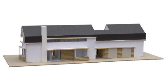 nieuwbouw riante villa te Weert ontwerpmaquette