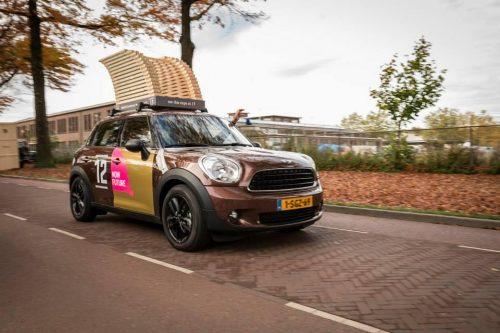 BEELEN CS architecten Eindhoven onze eigen Mini Countryman DesignRide tijdens de Dutch Design Week DDW