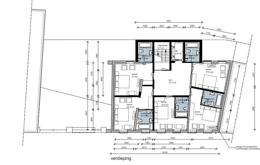 verdieping hotel | Beelen CS architecten