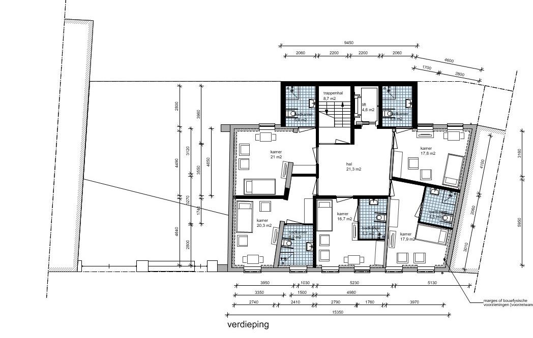 verdieping zorgappartementen | Beelen CS architecten