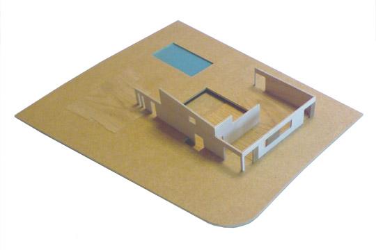 bouw maquette wanden