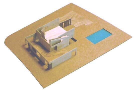 bouw maquette verdieping