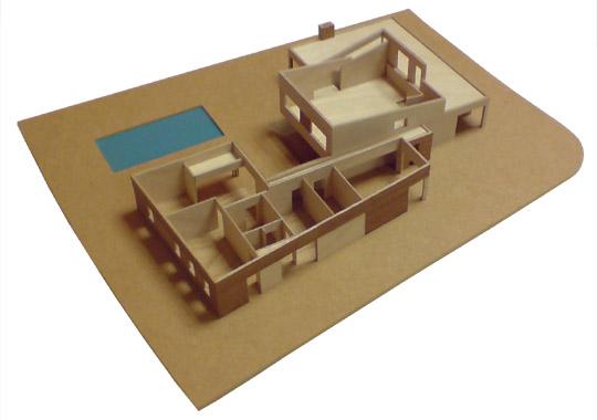bouw maquette