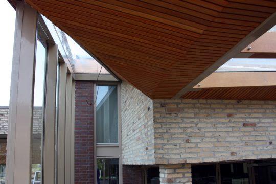 Bouw maatwerk terrasoverkapping Weert - bouwfoto 2 - BEELEN CS architecten Eindhoven