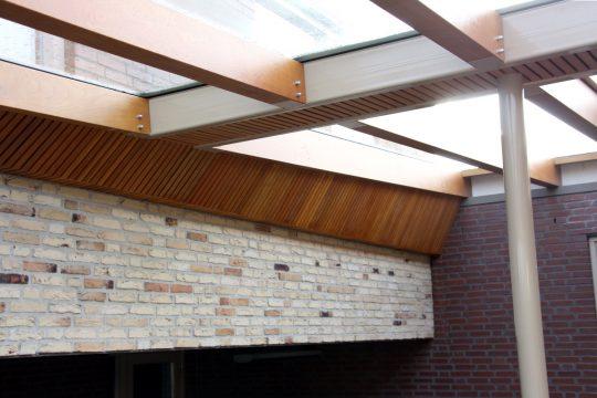 Bouw maatwerk terrasoverkapping Weert - bouwfoto 3 - BEELEN CS architecten Eindhoven