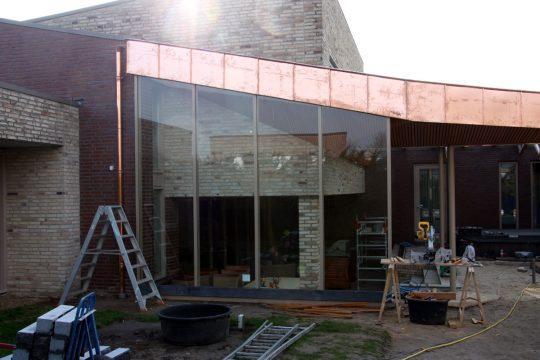 Bouw maatwerk terrasoverkapping Weert - bouwfoto 4 - BEELEN CS architecten Eindhoven