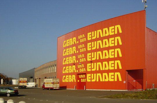 Nieuwbouw bedrijfspand Flightforum, Eindhoven - gevel loods - BEELEN CS architecten Eindhoven