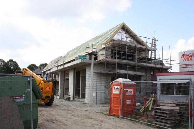 bouw woonhuis