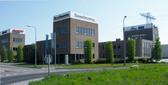 Bedrijfsgebouw Eemspoort Groningen voorzijde - BEELEN CS architecten Eindhoven