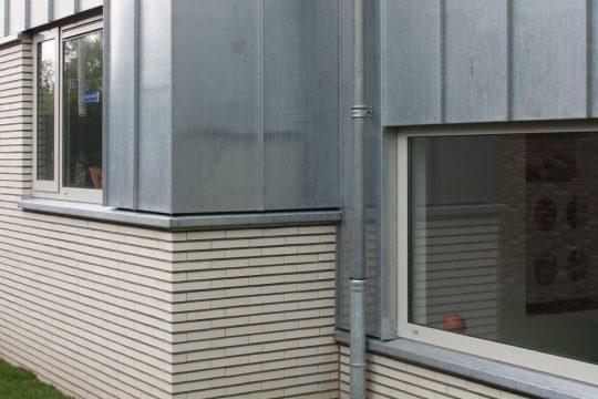 aanbouw en verbouwing woonhuis Helmerslaan Eindhoven gevel