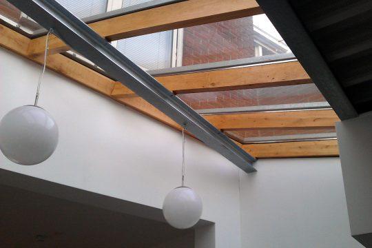 aanbouw en verbouwing woonhuis Helmerslaan Eindhoven lichtstraat