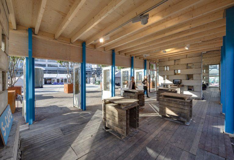 S-Cape paviljoen DDW inloop borrelruimte