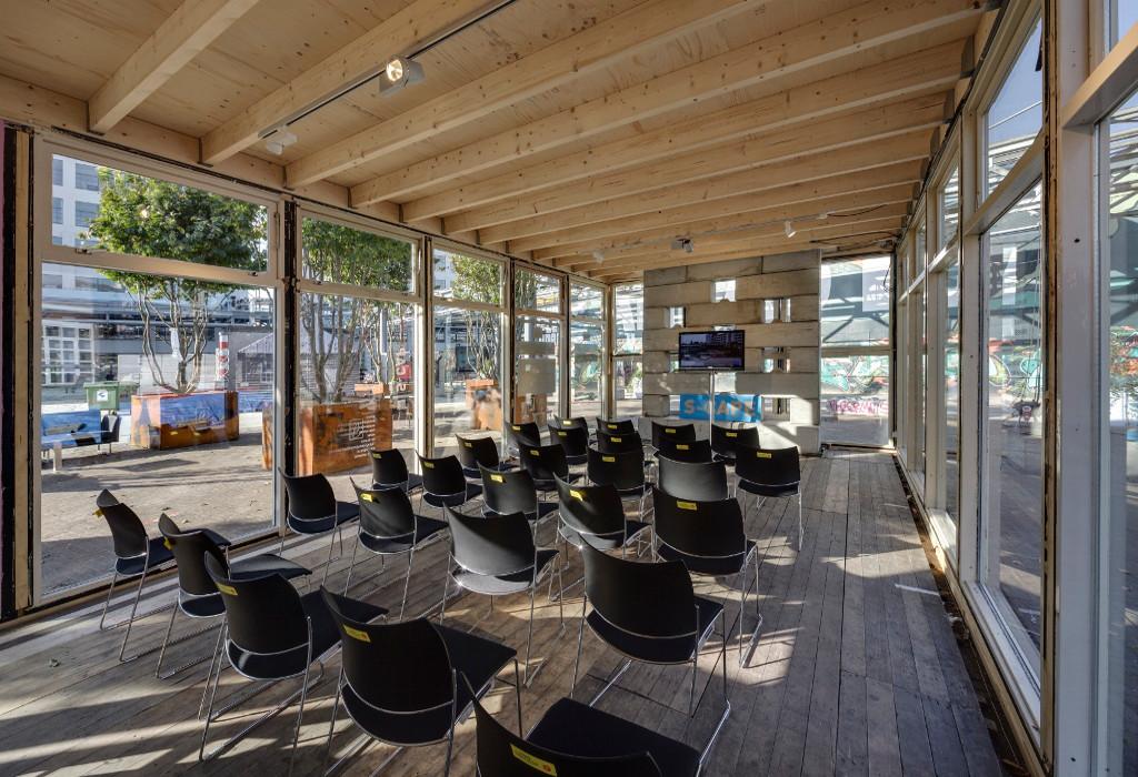 S-Cape paviljoen DDW presentatieruimte