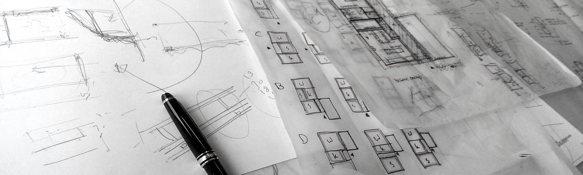 Schets - headafbeelding - BEELEN CS architecten Eindhoven