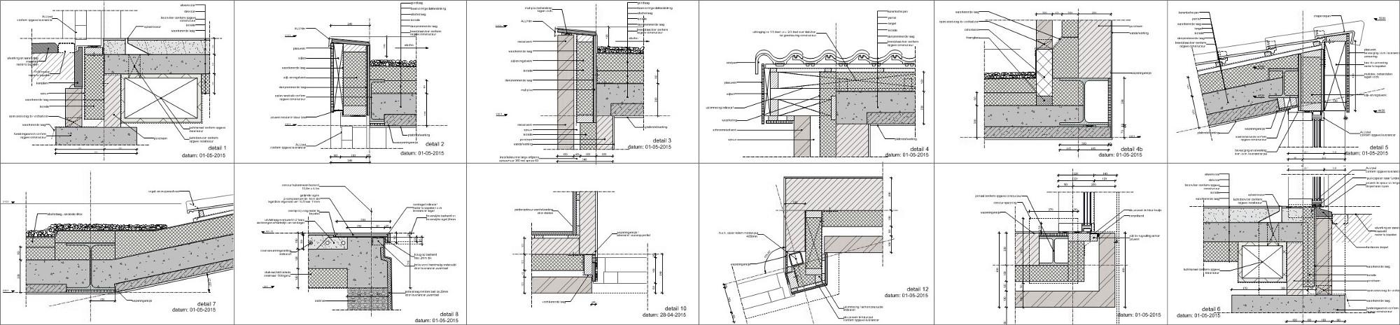 detailserie - BEELEN CS architecten Eindhoven