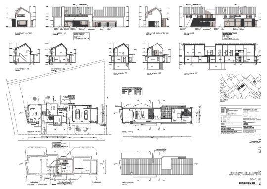vergunningaanvraag tekening - BEELEN CS architecten Eindhoven