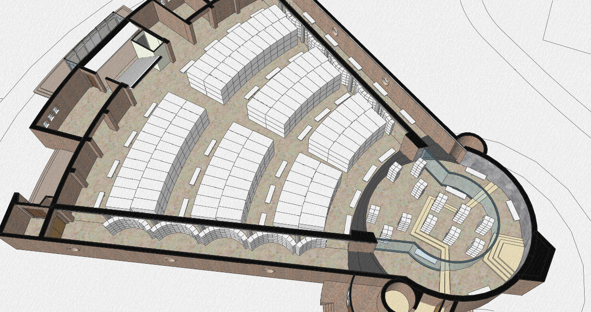 plan mausoleum Fatimakerk Weert | Beelen CS architecten