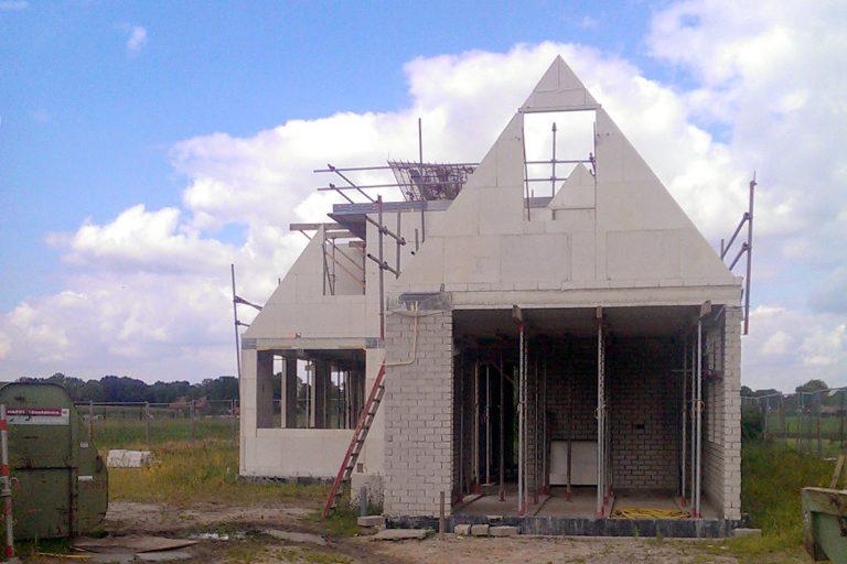 bouw woonhuis Smisserstraat Nederweert