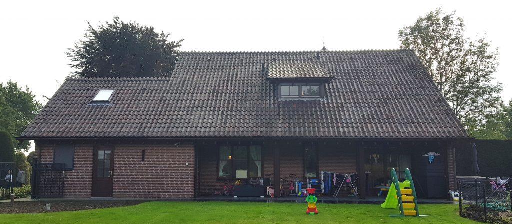 Transformatie woonhuis Weert bestaande achtergevel - BEELEN CS architecten Eindhoven