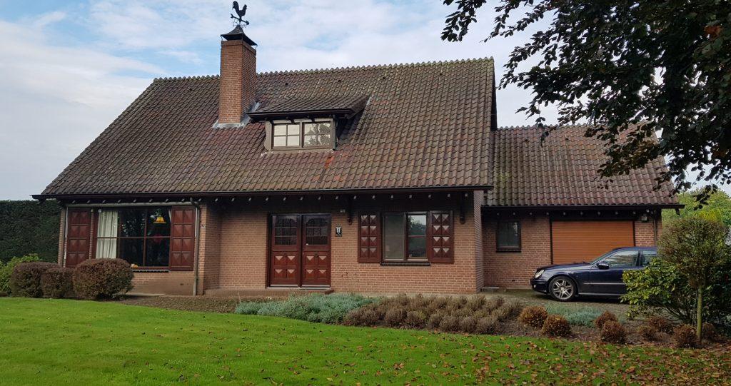 Transformatie woonhuis Weert bestaande voorgevel - BEELEN CS architecten Eindhoven