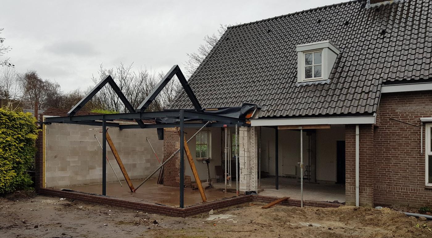Verbouwing Traditioneel Woonhuis Citrushof bouwfoto 1 - BEELEN CS architecten Eindhoven