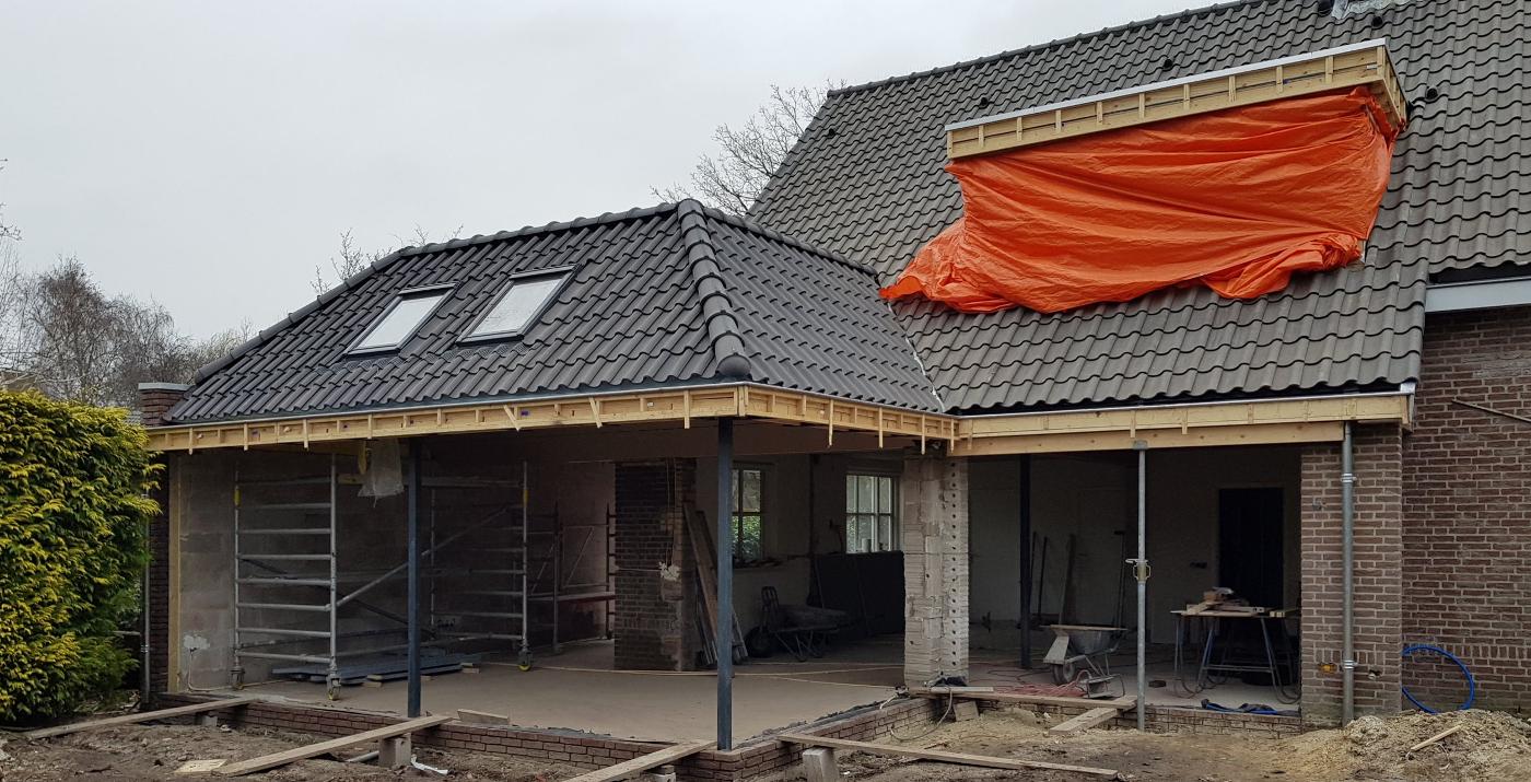 Verbouwing Traditioneel Woonhuis Citrushof bouwfoto 2 - BEELEN CS architecten Eindhoven