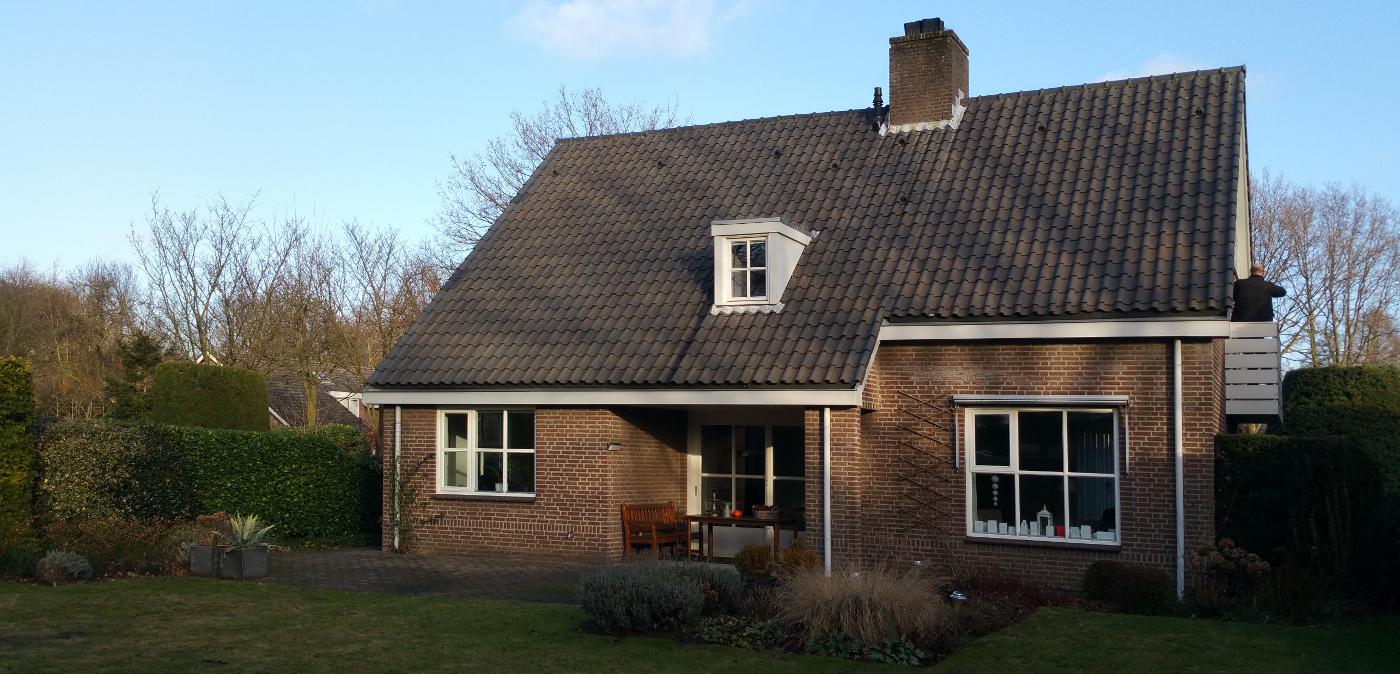 Verbouwing Traditioneel Woonhuis Citrushof tuinzijde bestaand - BEELEN CS architecten Eindhoven