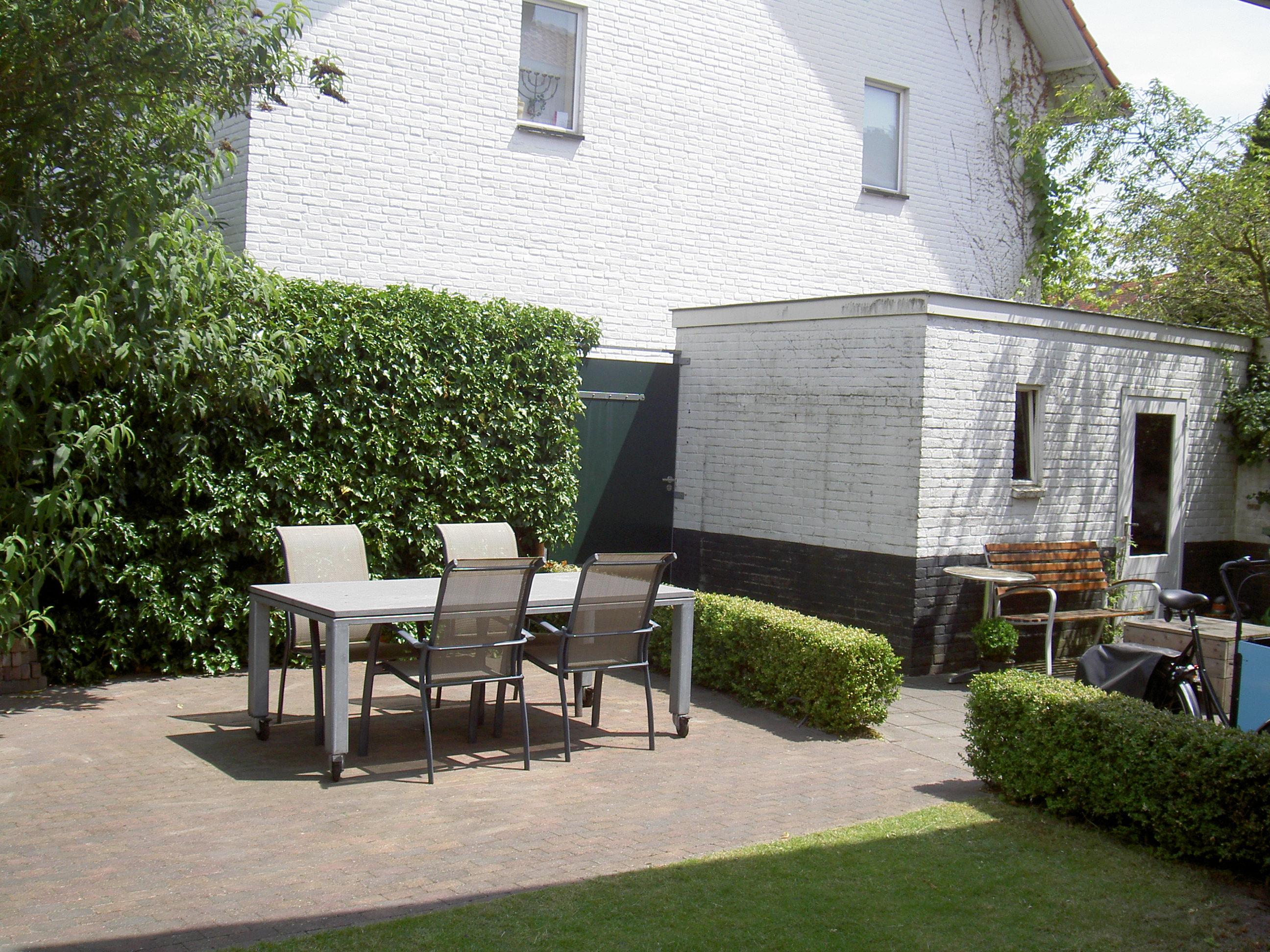 Tuin Burghstraat - Onderkeldering woonhuis Witte Dorp, Eindhoven - BEELEN CS architecten Eindhoven