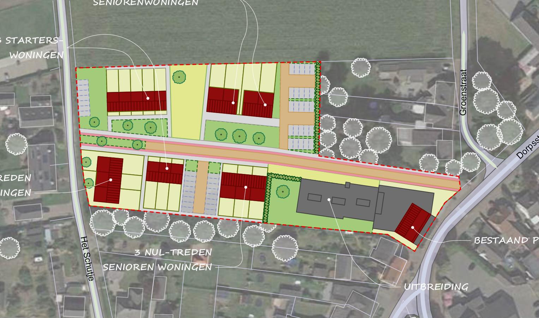 Ontwikkeling Dorpstraat Soerendonk Beelen CS architecten,