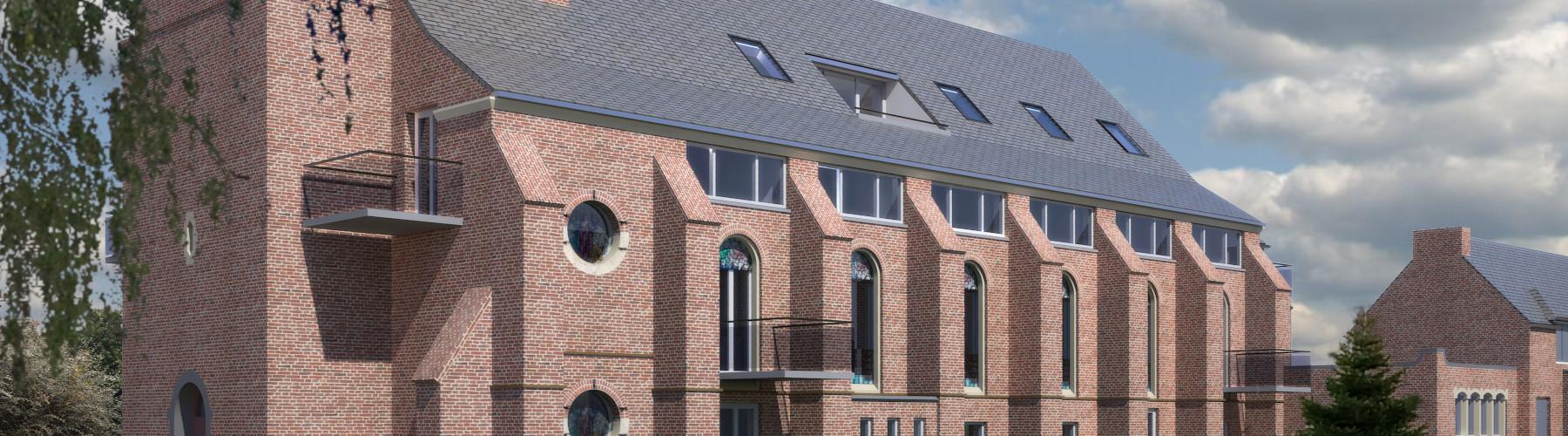 Herbestemming Kerkgebouw te Landgraaf door BEELEN CS architecten bv
